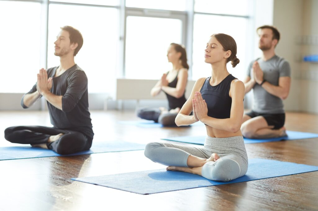 Group meditation practice